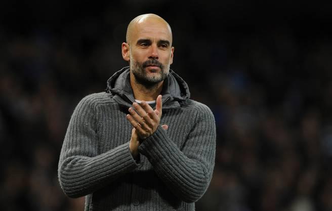 Manchester City mit seinem Trainer Pep Guardiola darf in der nächsten Saison in der Champions League antreten.