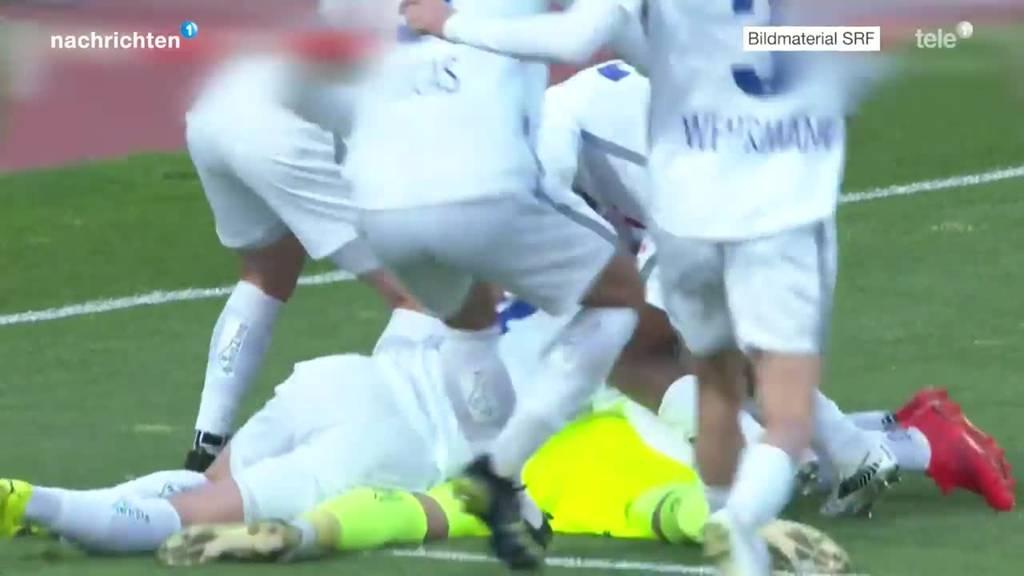 Cup Viertelfinal FCL gegen Lugano