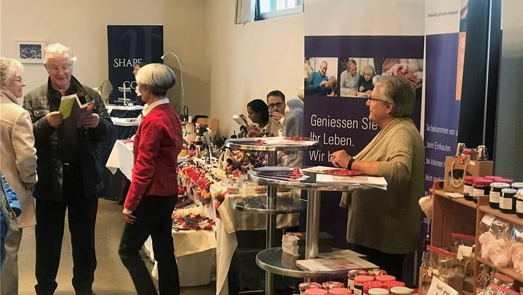 Am Chlausmarkt im Dezember startete das Senioren-Netzwerk die Aktivitäten.