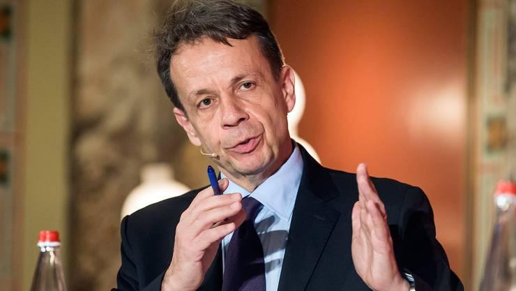 SRG-Generaldirektor Gilles Marchand will über alle Bereiche hinweg 50 Millionen Franken einsparen.