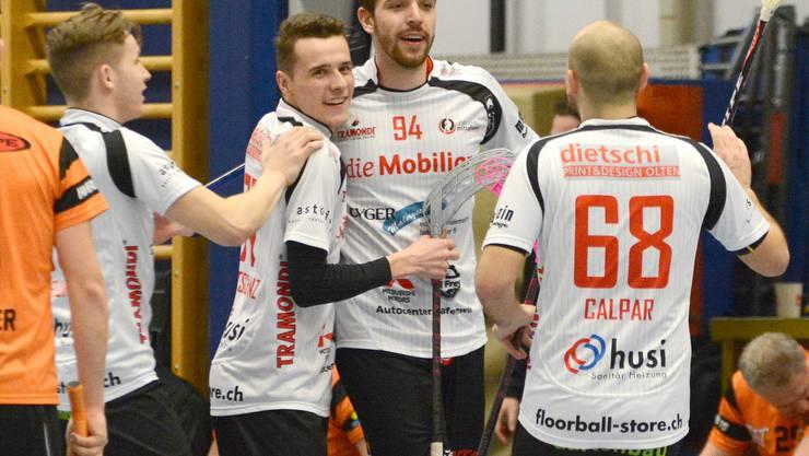 Trotz Niederlage in Bern dürfen sich die Mittelländer über die Playoff-Qualifikation freuen.