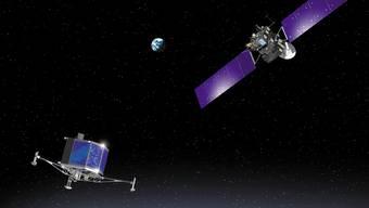 510 Millionen Kilometer von der Erde entfernt: Philaes Chancen auf eine erfolgreiche Landung liegen bei 50 Prozent.