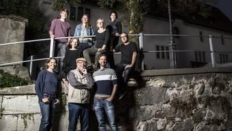 Der Vorstand des Filmclubs freut sich auf eine spannende Saison. Von links oben: Lukas Scherrer, Angela Nyffeler, Esthi Lutz, Ladina Padrutt, Marion Sykora, Pascal Hauenstein, Anja Blankenhorn, Bernhard Greber und Andreas Müller.