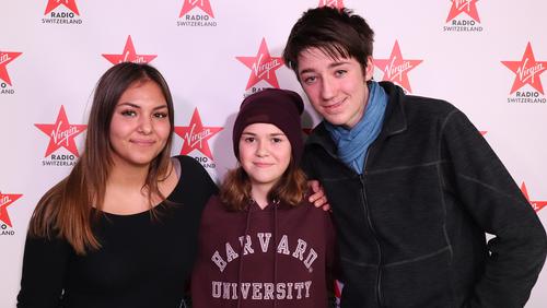 Dina, Lynn und Joan haben am 17, Januar ihr Radiodebüt am «YouNews»-Tag erfolgreich gemeistert.