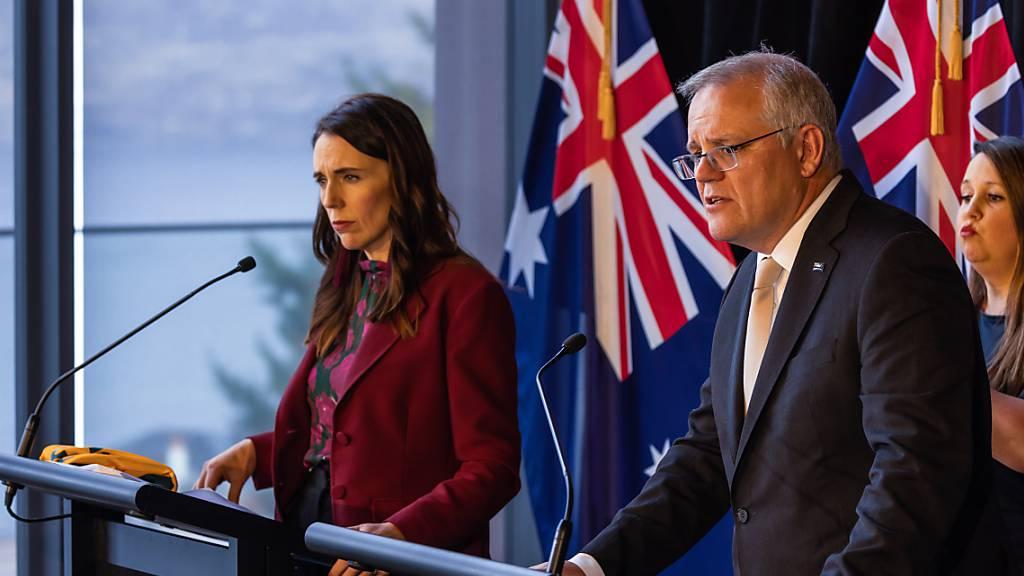 Neuseeland setzt Corona-Regelung mit Australien aus