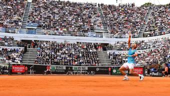 Rafael Nadal behält im Foro Italico von Rom gegen Novak Djokovic die Oberhand
