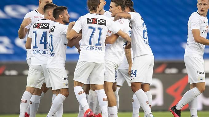 Die Mannschaft vom FC Zürich muss sich in eine zehntägige Quarantäne begeben