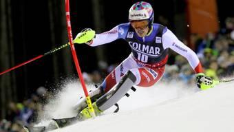 Daniel Yule könnte die seit 2010 dauernde Wartezeit ohne Schweizer Podestplatz im Slalom bald beenden.