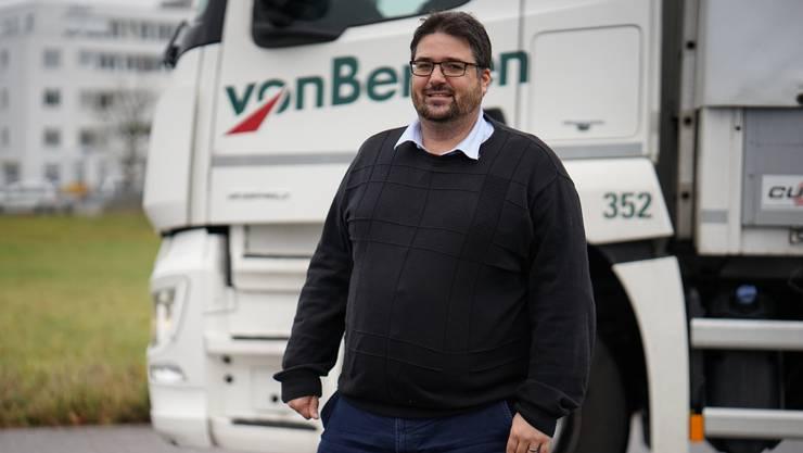 Irritiert ist Christian Hunziker, Vizedirektor der Solothurner Handelskammer, dass gewisse Politiker fehlende Wertschöpfung in der Logistikbranche kritisieren. Der Experte zählte 1200 neue Stellen in zehn Jahren.
