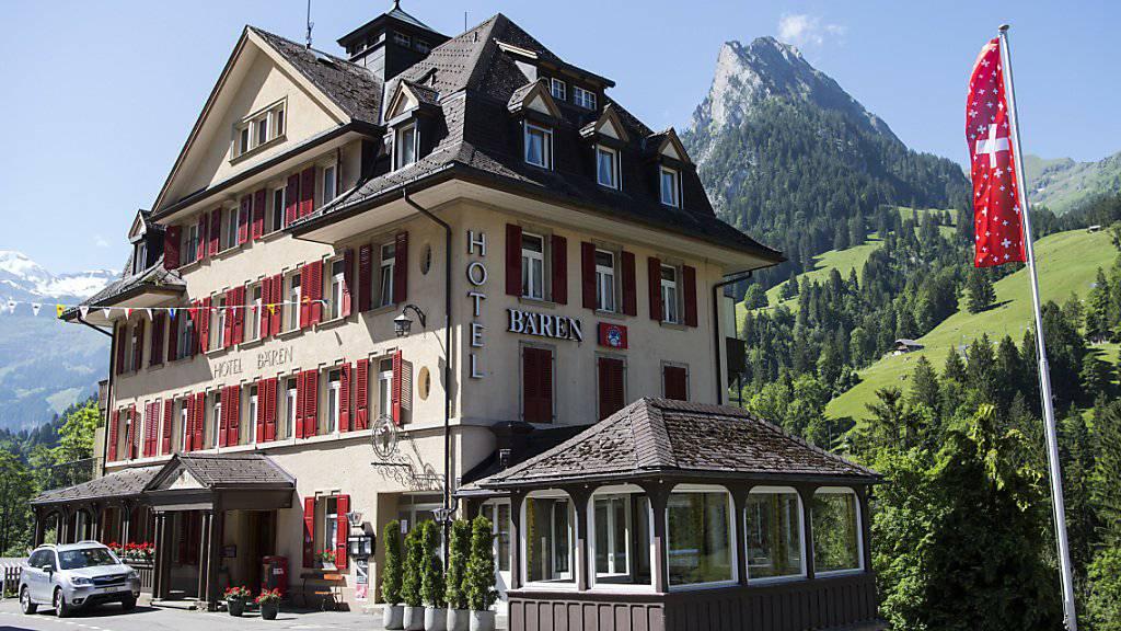 Hotel Bären im Kiental im Berner Oberland: Für die Schweizer Hoteliers sind die Deutschen nach den Einheimischen nach wie vor die wichtigste Gästegruppe.