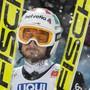 Killian Peier an der WM 2019 nach einem Sprung von der Normalschanze in Seefeld.