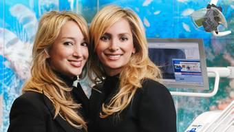 Die beiden Gründerinnen und Mehrheitsaktionärinnen der swiss smile clinic.