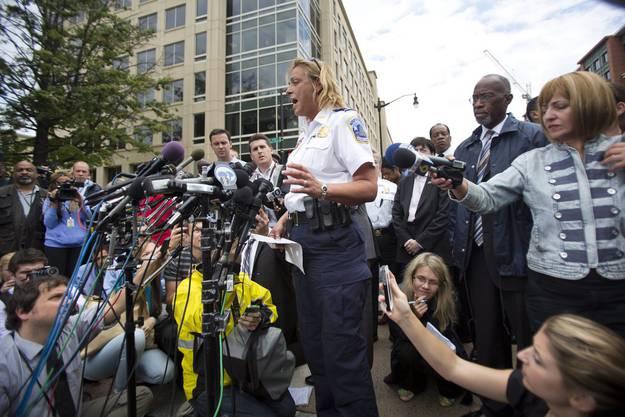Polizeichefin Cathy Lanier