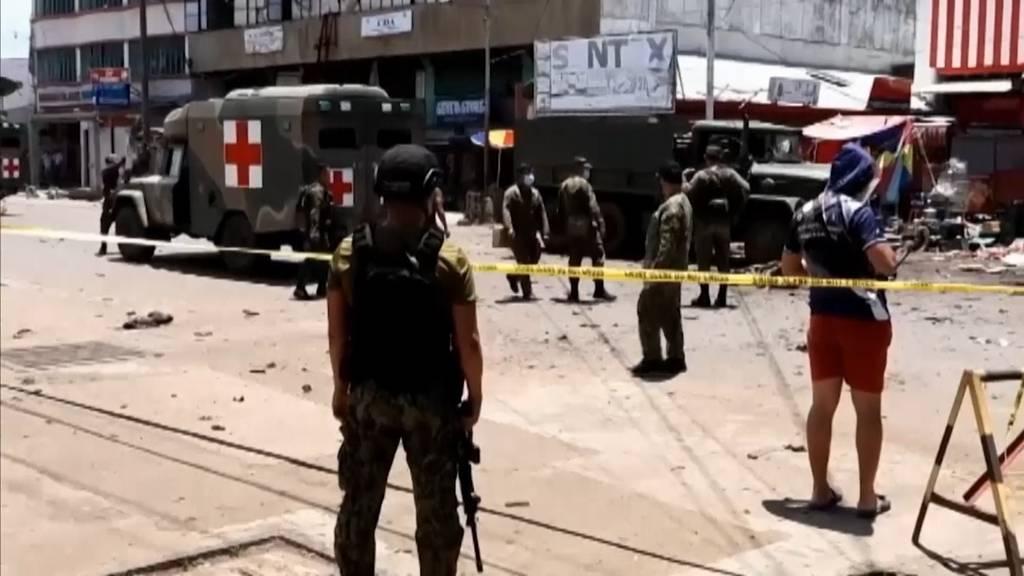Zwei Explosionen im Süden der Philippinen - mindestens elf Tote