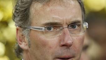 PSG's Meister-Coach Laurent Blanc