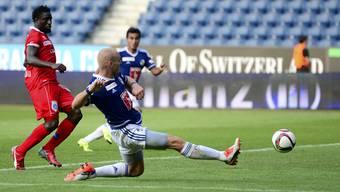 Luzern und Sion trennten sich 2:2.