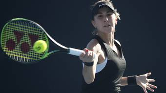 Belinca Bencic siegt zum Auftakt der Australian Open.
