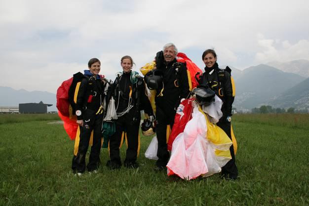 Von links: Erica, Dominique, Andi und Christina Franz.