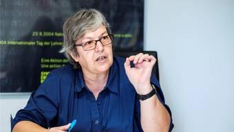 Elisabeth Abbassi ist Präsidentin des Lehrerverbands Kanton Aargau.