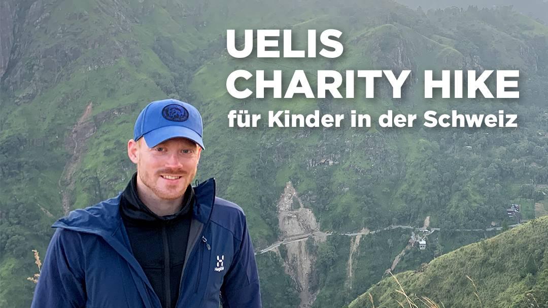 Uelis Charity-Hike für Kinder in der Schweiz