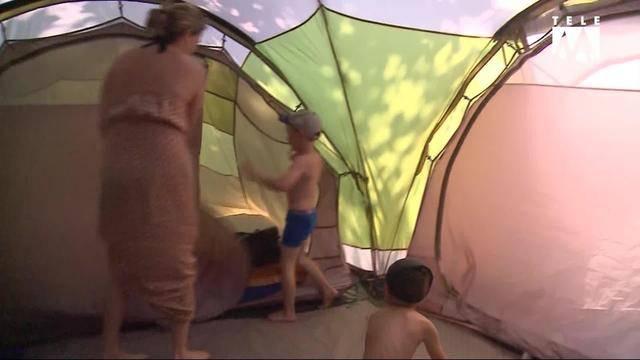 Ferien zu Hause: Campieren