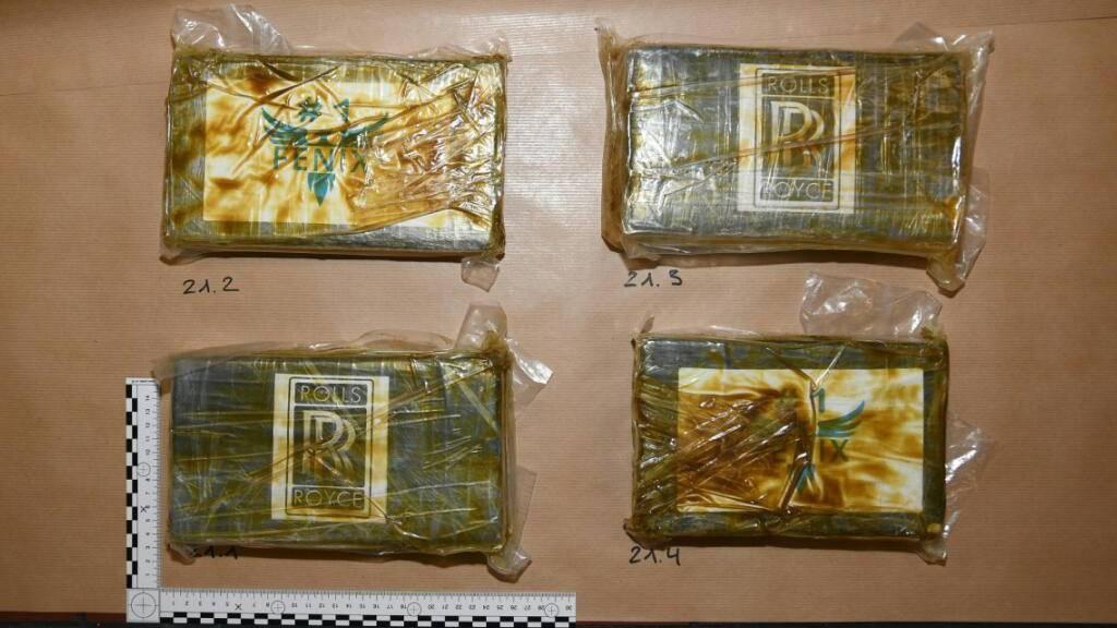 Kokain im Wert von einer halben Million Franken sichergestellt