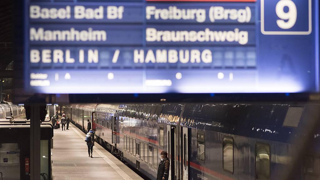 Zügen zwischen Deutschland-Schweiz fallen wegen DB-Streik aus