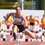 Die Leichtathletin Aline Kämpf ist fokussiert, egal welche Hürde noch kommen mag.