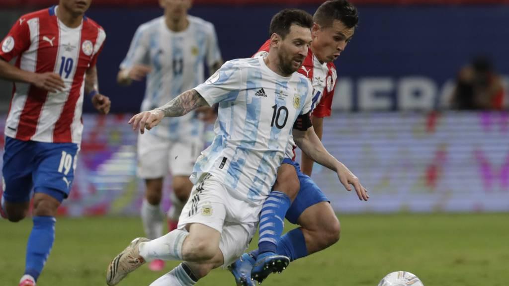 Argentinien in den Viertelfinals, Messi mit Rekord
