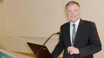 Markus Seiler, Chef des Nachrichtendienstes Schweiz zu Gast in Solothurn