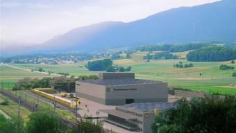 Darüber stimmen die Bellacherinnen und Bellacher am 18. Juni indirekt ab: Das Marti-Recyclingcenter. (Illustration)