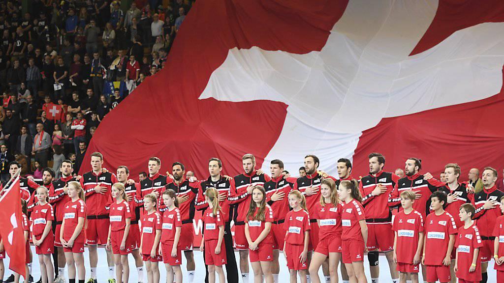 Die Schweizer Handballer können definitiv die WM-Playoffs gegen Norwegen spielen.