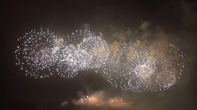 Grösstes Feuerwerk der Schweiz