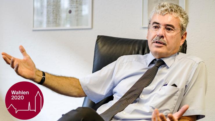 Mit Anwalt Stefan Suter hat die SVP dieses Jahr einen Quereinsteiger für die Regierungsratswahlen aufgestellt.