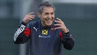 Marcel Koller gewann mit Österreich bereits zum achten Mal in der EM-Qualifikation