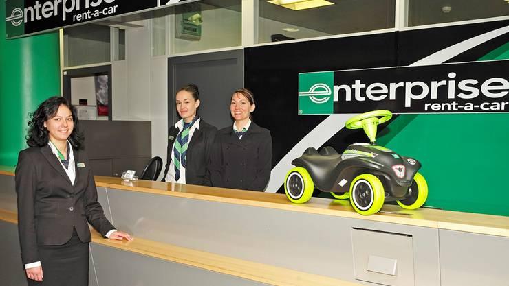 Dass Weltmarktführer Enterprise schnell zu einem Schalter am Euro-Airport kam, war entscheidend dafür, dass das Schweizer Hauptquartier ins Baselbiet zog.