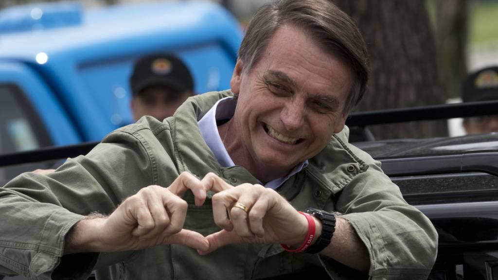 Bolsonaro: Schluss mit illegaler Abholzung des Regenwalds bis 2030