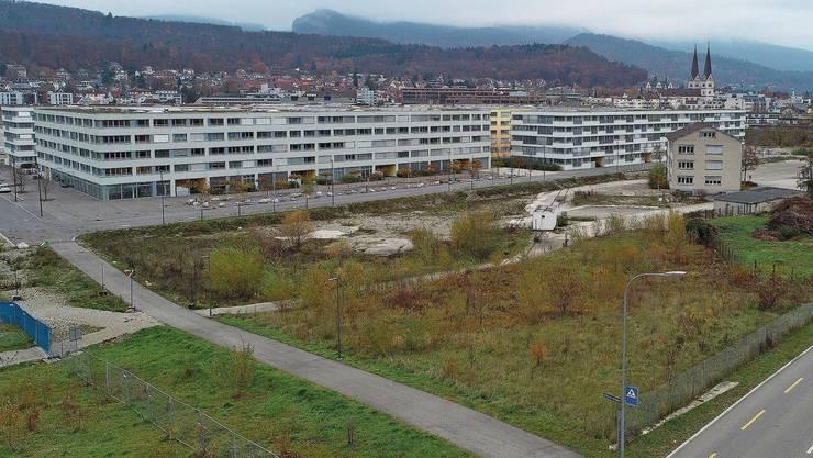 Welche Optimierungen an die Stadtplanung, wie hier an Olten Südwest, vornehmen? Studierende aus Rapperswil setzten sich ein Jahr mit Olten auseinander.
