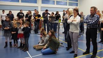 Der Neujahrsapéro in Winznau erweist sich als ideale Gelegenheit, um bekannte und neue Gesichter im Dorf zu treffen.