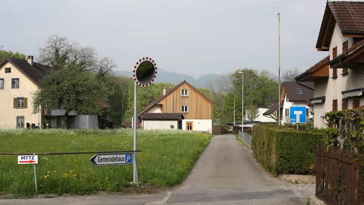 Das Seniorenzentrum wird beim Gemeindehaus gebaut.