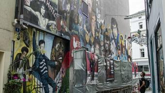 «Wall of Fame»: Die Rockstars bröckeln langsam ab