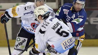 Biel kann sich gegen Fribourg nicht durchsetzen.