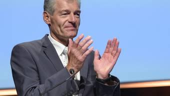 """""""Oberstes Ziel der Schweizer Aussenwirtschaftspolitik muss die Sicherung und Förderung des Wohlstand in unserem Land sein"""", fordert Economiesuisse-Präsident Heinz Karrer. (Archivbild)"""