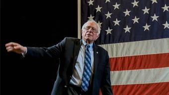 Bewirbt sich mit 77 erneut um die Nomination der Demokraten: Bernie Sanders. Imago