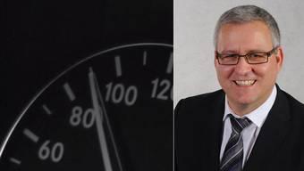 Ulrich Pfister fuhr in einer 60er-Zone 96 km/h.