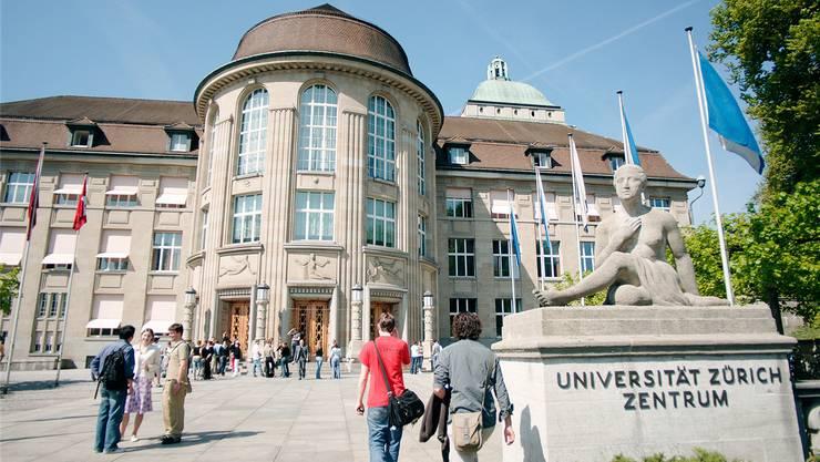 Die Universität Zürich will die zusätzlichen Millionen in die Lehre investieren. Frank Brüderli