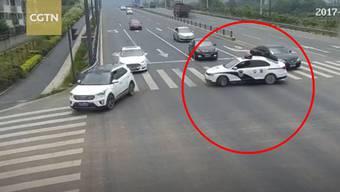 Hat grosse Macht und auch ein grosses Herz: Polizist Li Kang aus Chengdu.