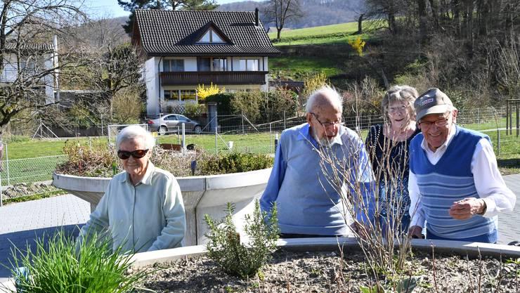 Das Leben verläuft fast wie normal im Altersheim Brüggli in Dulliken.