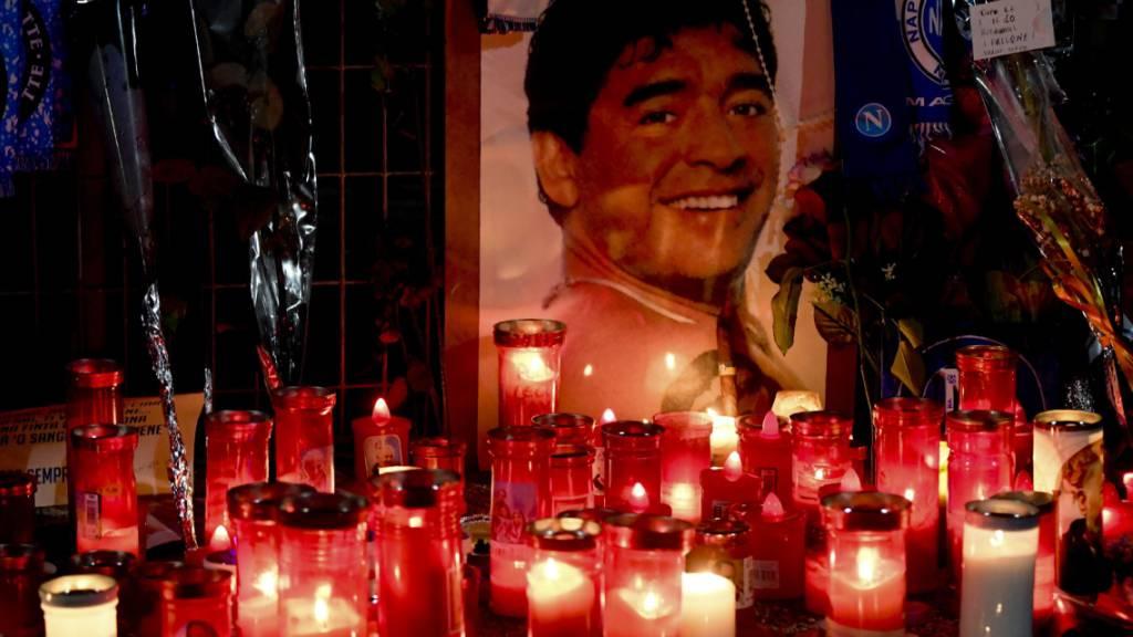 Staatsanwaltschaft untersucht Maradonas Tod