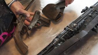 Auch ältere Waffen sollen registriert werden (Symbolbild)
